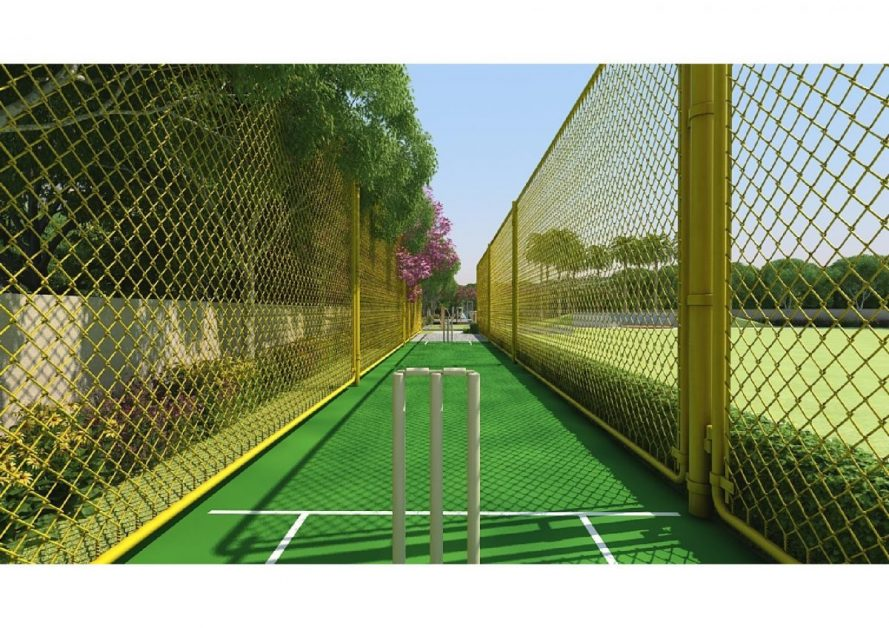 MRG WORLD The Ultimus sector 90 best affordable housing project , cricket pitch