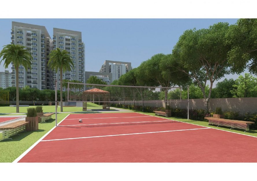 MRG WORLD The Ultimus sector 90 best affordable housing project , badminton court